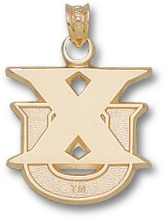 "Xavier Musketeers New ""XU"" 5/8"" Lapel Pin - 10KT Gold Jewelry"