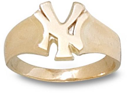 New York Yankees NY Ladies Ring Size 6 12  14KT Gold Jewelry
