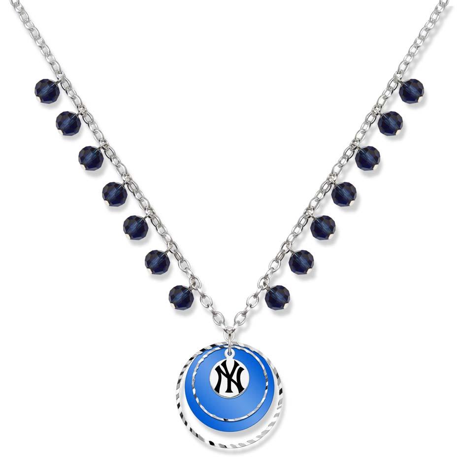 New York Yankees Game Day Necklace LGA-YAN068N-CR