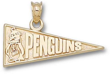 """Youngstown State Penguins """"Penguins Pennant"""" Lapel Pin - Sterling Silver Jewelry"""