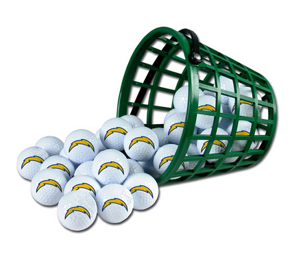 San Diego Chargers Golf Ball Bucket (36 Balls) MCA-1324BU