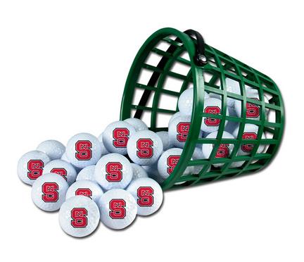 North Carolina State Wolfpack Golf Ball Bucket (36 Balls)