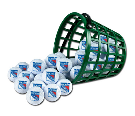 New York Rangers Golf Ball Bucket (36 Balls)