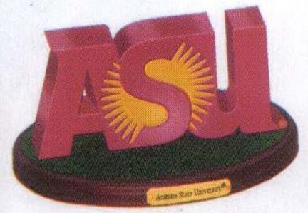 "Arizona State Sun Devils ""3D Logo"" Figurine"