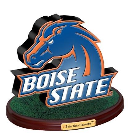 "Boise State Broncos ""3D Logo"" Figurine"