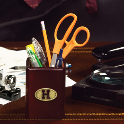 Harvard Crimson Pen / Pencil Holder