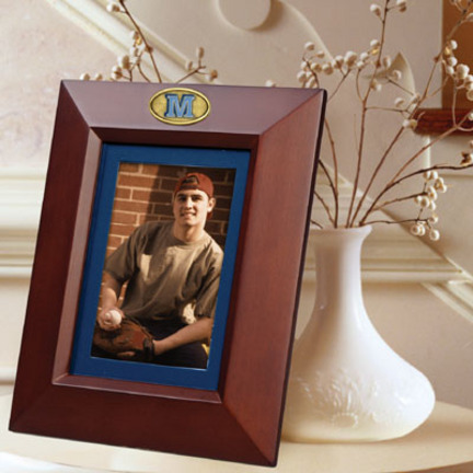 """Maine Black Bears 5"""" x 7"""" Vertical Brown Picture Frame"""