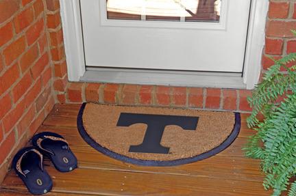 Tennessee Volunteers Half Moon Door Mat