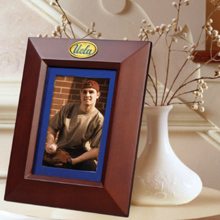 "UCLA Bruins 5"" x 7"" Vertical Brown Picture Frame"