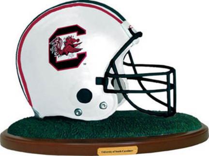 South Carolina Gamecocks Replica Football Helmet Figurine