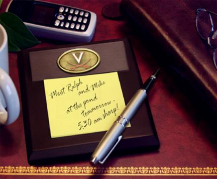 Virginia Cavaliers Memo Pad Holder