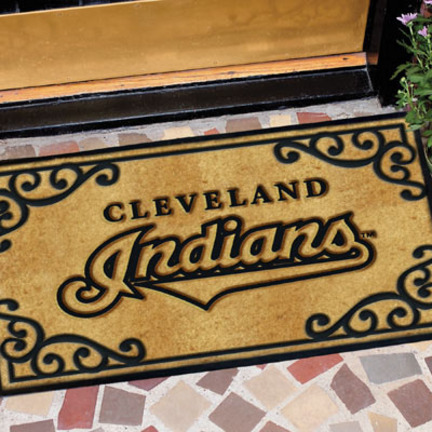 Cleveland Indians Door Mat