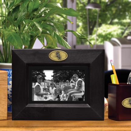 Chicago White Sox 5 x 7 Horizontal Black Picture Frame