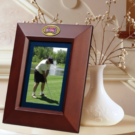 """Washington Nationals 5"""" x 7"""" Vertical Brown Picture Frame"""