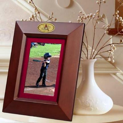 """Albuquerque Isotopes 5"""" x 7"""" Vertical Brown Picture Frame"""