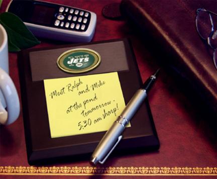 New York Jets Memo Pad Holder