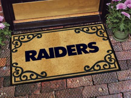 Oakland Raiders Door Mat