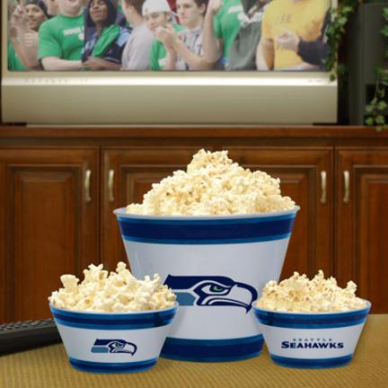 Seattle Seahawks Melamine Bowl Set