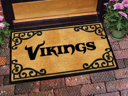 Minnesota Vikings Door Mat