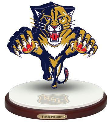 """Florida Panthers """"3D Logo"""" Figurine"""