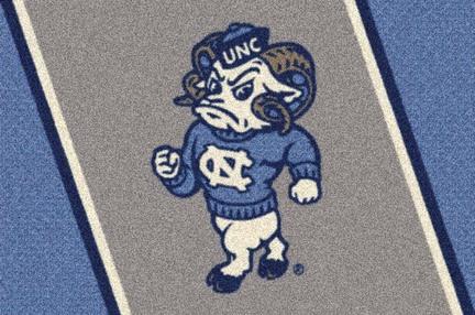 "North Carolina Tar Heels (Ram) 22"" x 33"" Team Door Mat"