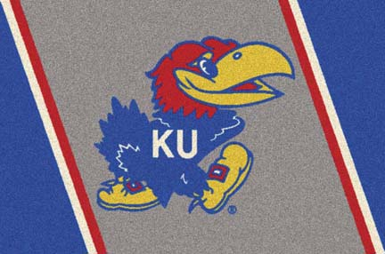 """Kansas Jayhawks 22"""" x 33"""" Team Door Mat"""