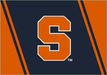 "Syracuse Orangemen ""S"" 4' x 6' Team Door Mat"