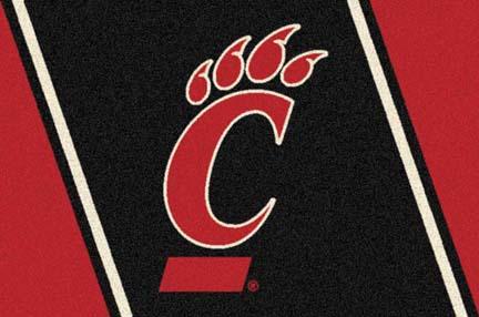 Cincinnati Bearcats 5 x 8 Team Door Mat