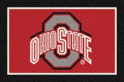 "Ohio State Buckeyes (Gray O) 33"" x 45"" Team Door Mat"