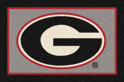 "Georgia Bulldogs ""G"" 33"" x 45"" Team Door Mat"