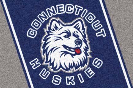 """Connecticut Huskies 22"""" x 33"""" Team Door Mat"""