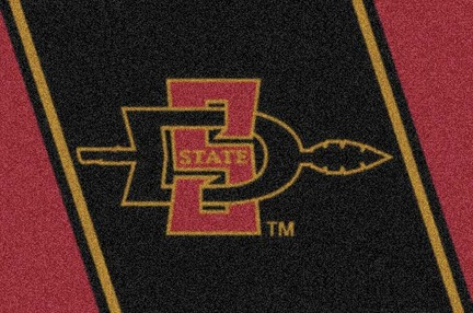 "San Diego State Aztecs 2'8""x 3'10"" Team Spirit Area Rug"
