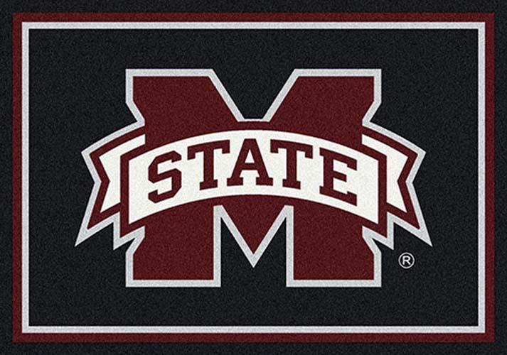 "Mississippi State Bulldogs 7' 8"" x 10' 9"" Team Spirit Area Rug"