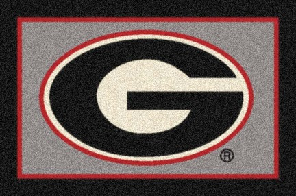 "Georgia Bulldogs ""G"" 7' 8"" x 10' 9"" Team Spirit Area Rug"