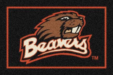 """Oregon State Beavers 3'10"""" x 5'4"""" Team Spirit Area Rug"""