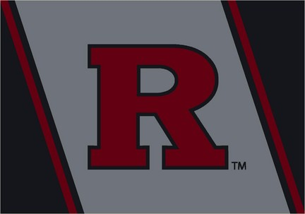 "Rutgers Scarlet Knights 3'10""x 5'4"" Team Spirit Area Rug"