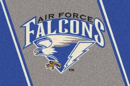 """Air Force Academy Falcons 7' 8"""" x 10' 9"""" Team Spirit Area Rug"""