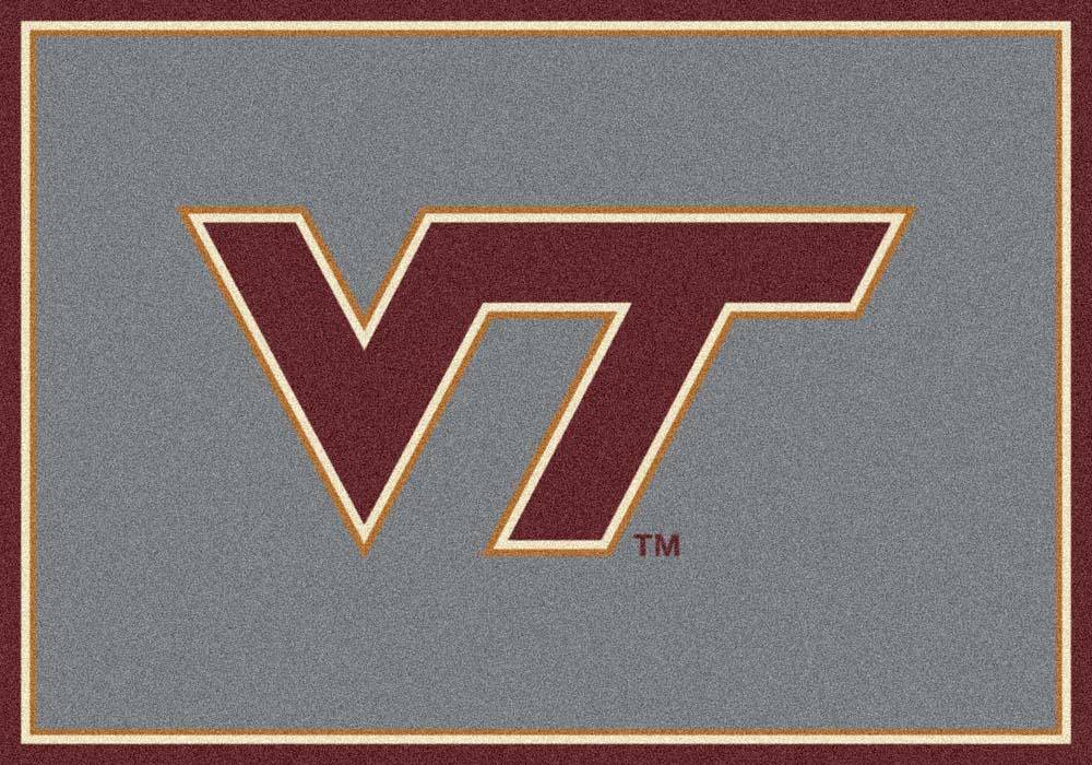 Virginia Tech Hokies (Horizontal) 5' x 8' Team Door Mat