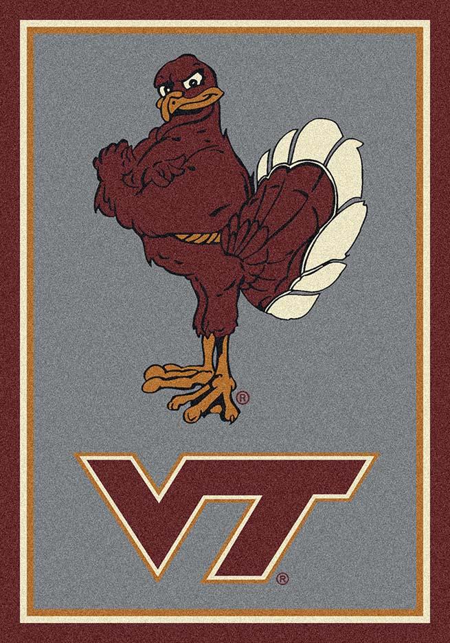 Virginia Tech Hokies Vertical 7ft 8in x 10ft 9in Team Spirit Area Rug