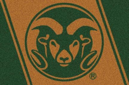"Colorado State Rams 5' 4"" x 7' 8"" Team Spirit Area Rug"