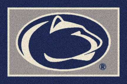Penn State Nittany Lions (Logo) 7ft 8in x 10ft 9in Team Spirit Area Rug