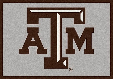 Texas A & M Aggies 7ft 8in x 10ft 9in Team Spirit Area Rug