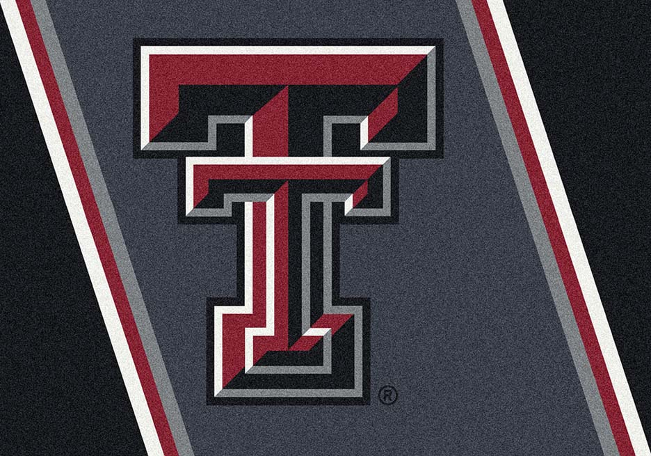 "Texas Tech Red Raiders ""T"" 7' 8"" x 10' 9"" Team Spirit Area Rug"