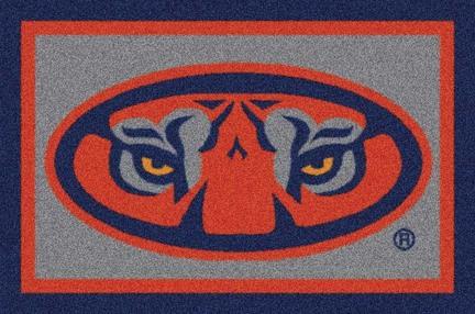 "Auburn Tigers ""Tiger Eyes"" 7' 8"" x 10' 9"" Team Spirit Area Rug"