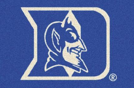 """Duke Blue Devils 5'4""""x 7' 8"""" Team Spirit Area Rug"""