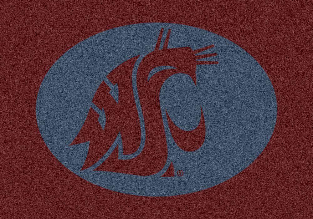 "Washington State Cougars 7' 8"" x 10' 9"" Team Spirit Area Rug"