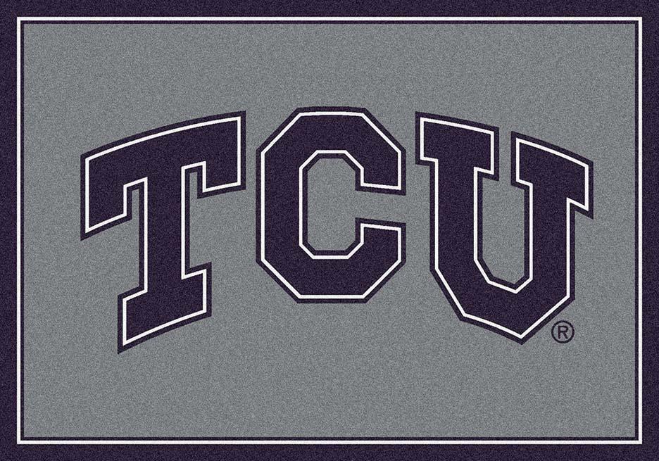 """Texas Christian Horned Frogs 22"""" x 33"""" Team Door Mat"""
