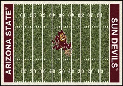 "Arizona State Sun Devils 7' 8"" x 10' 9"" NCAA Home Field Area Rug"