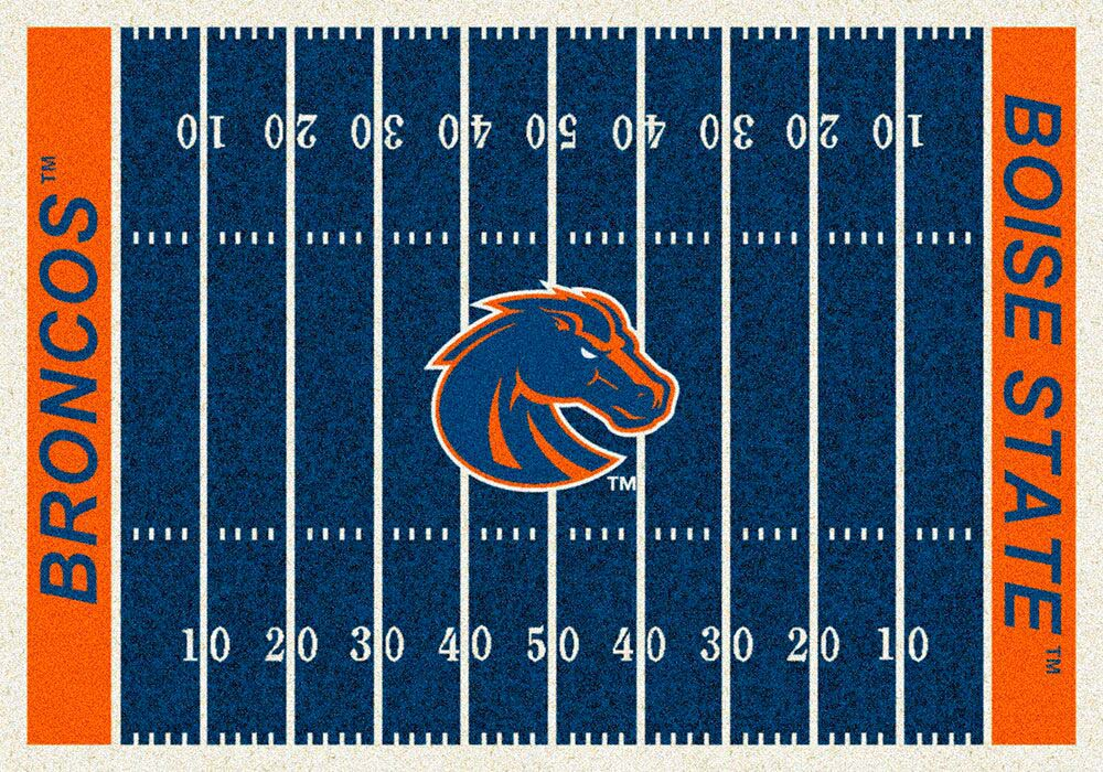 Boise State Broncos 3′ 10″ x 5′ 4″ Home Field Area Rug