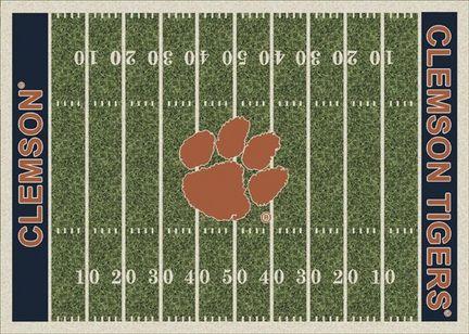 "Clemson Tigers 3' 10"" x 5' 4"" Home Field Area Rug"